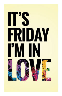 0d214abdeac The Cure -  It s Friday I m In Love