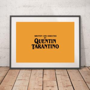Opening Credits - ('Quentin Tarantino')